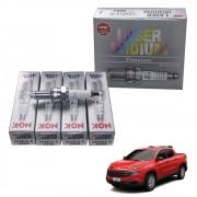 Jogo Velas Ngk Iridium Jeep Renegade Fiat Toro 1.8 16v Original