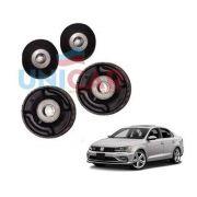 Kit 4 Buchas Balança Dianteiras VW Jetta 2011 Em Diante