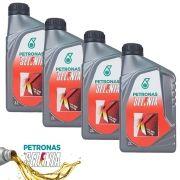 Kit 4 Litros de Oleo Para Motor Selenia K 15w40 Api Sn Semi