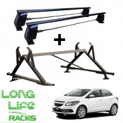 Kit Rack Longlife Way + Porta Escadas Onix Prisma 4 Portas