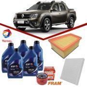 Kit Troca de Oleo Original Duster Oroch 1.6 16V Hi Flex Elf 10w40 + Filtros