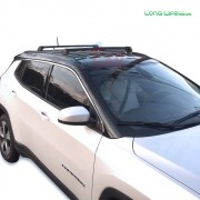 Rack teto Travessa Jeep Compass Longlife Sports Aluminio