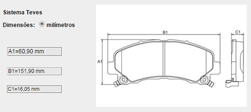 Pastilha Freio Dianteiro Nova S10 Trailblazer Bosch Original