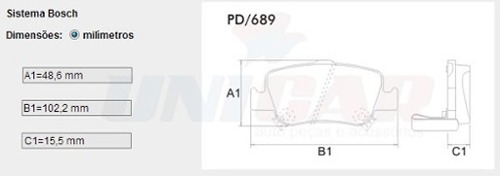 Kit Pastilhas Freio Dianteiro + Traseiro Corolla 2009 2010 2011 2012 2013 2014 Original Bosch