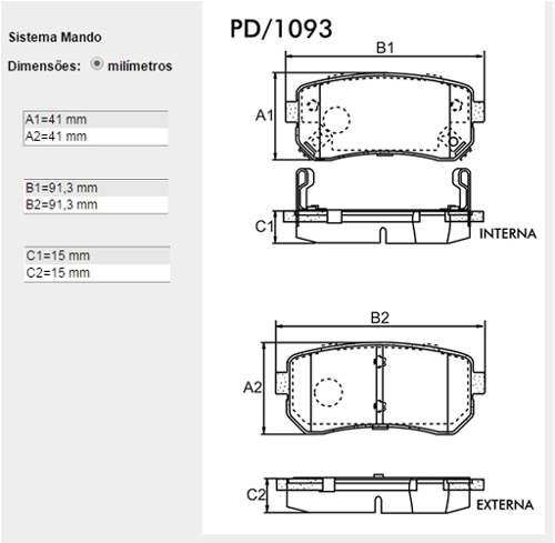 Pastilha Freio Traseiro Hyundai I30 2.0 16v Bosch Original