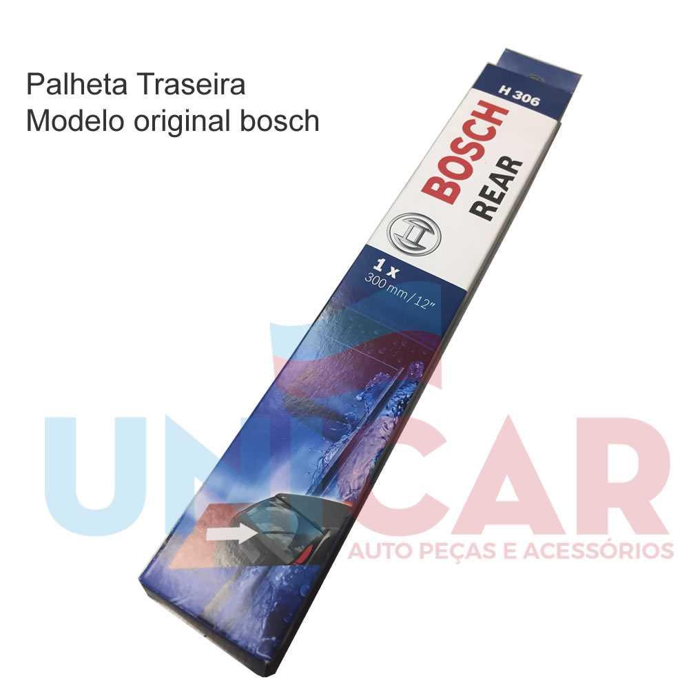 Jogo Palheta Dianteira + Traseira Bosch Outlander 2007 a 2012