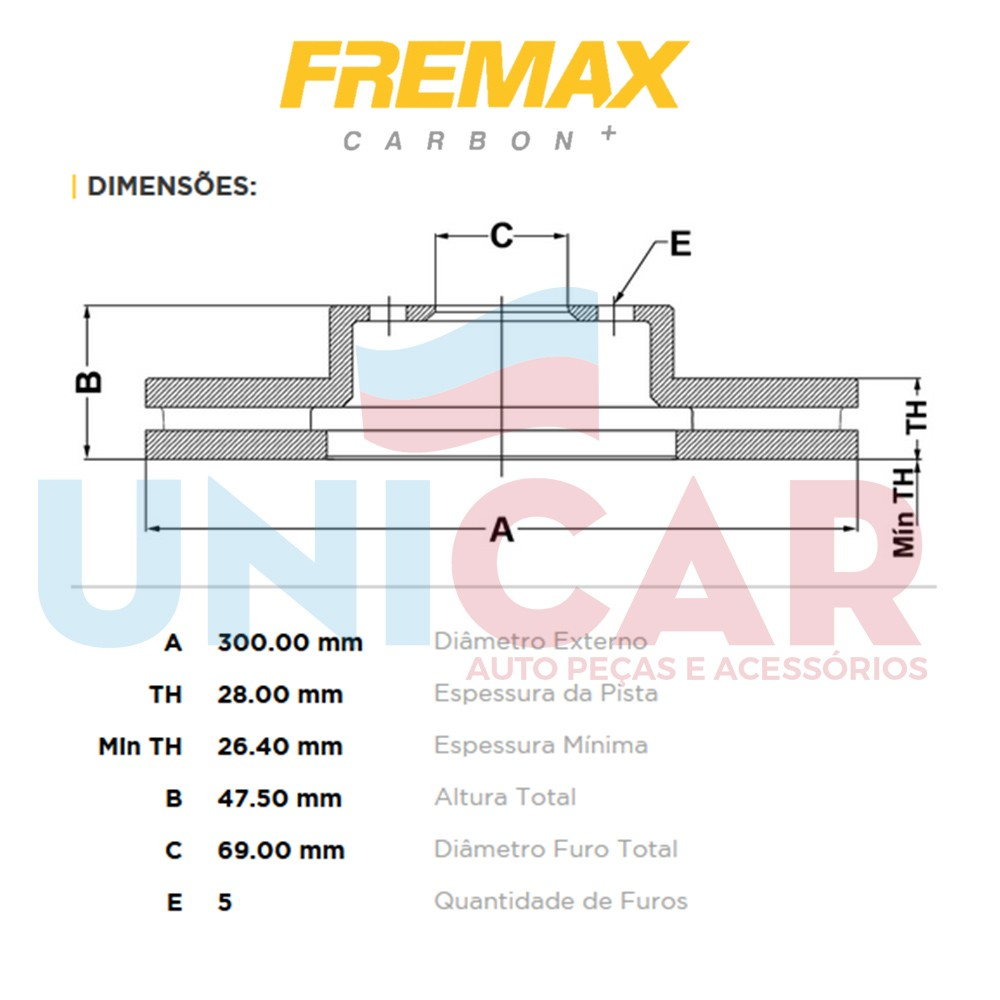 Par Disco Freio Dianteiro Creta IX35 Sonata Tucson Original Fremax