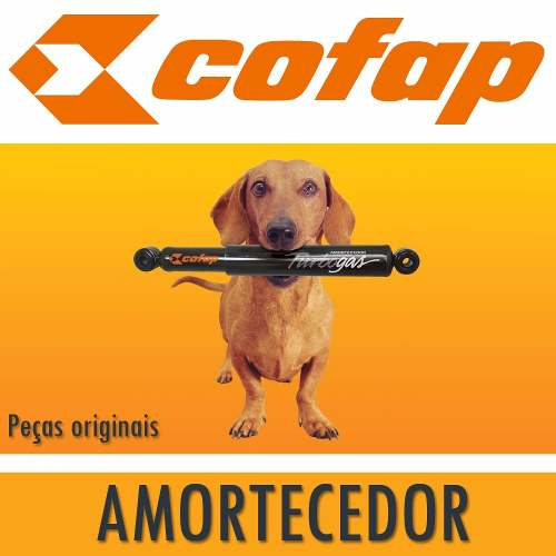 Par Amortecedor Dianteiro + Traseiro Amarok 2010 Em Diante Cofap