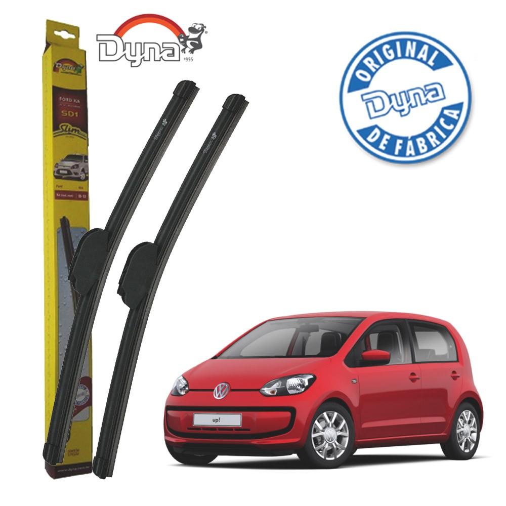 Jogo Palheta Dianteira Volkswagen Up! 2014 em Diante Original Dyna