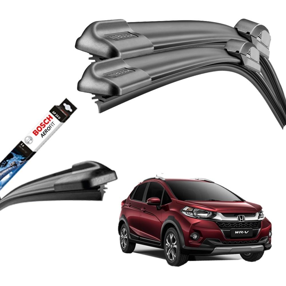 Jogo Palheta Original Bosch Aerofit Honda Hrv 2015 Em Diante