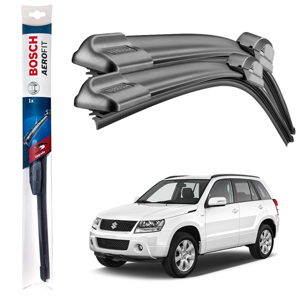 Jogo Palheta Original Bosch Aerofit Suzuki Grand Vitara 1998 a 2015