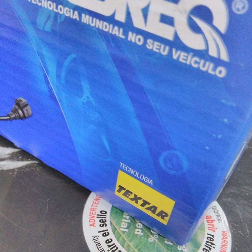 Kit Disco + Pastilhas Dianteiro Hilux SW4 2.5 3.0 Turbo 2005 Em Diante