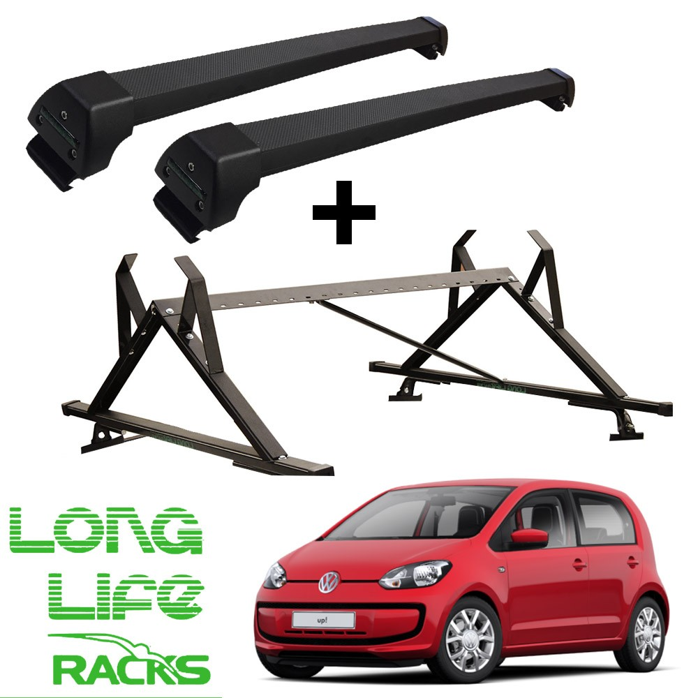 Kit Rack Aluminio Sports Longlife + Porta Escadas UP! 2 e 4 Portas