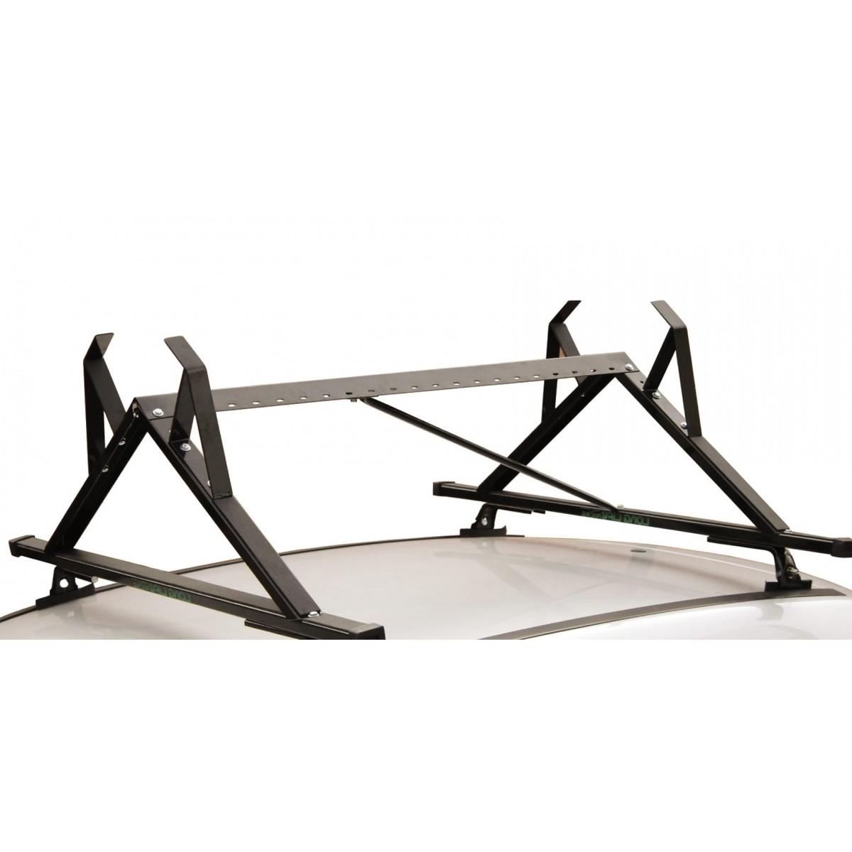 Kit Rack Longlife Aço + Porta Escadas Sandero Logan Todos