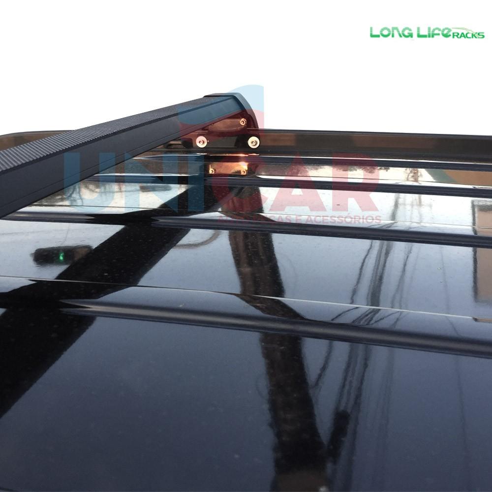 Rack teto Travessa Jeep Compass Longlife Sports Aluminio
