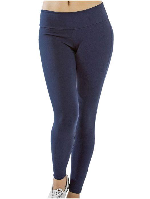 Calça Legging Viscose Lisa Feminina Adulto - 056