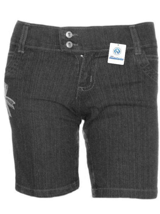 Bermuda Jeans Tradicional Fem Juvenil - 210