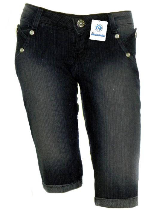 Bermuda Jeans Tradicional Fem Adulto - 214