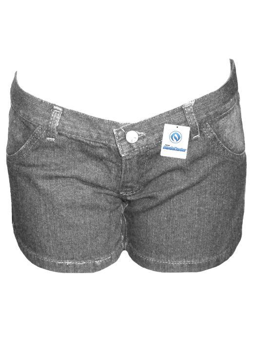 Short Jeans Curto Tradicional Fem Adulto - 217