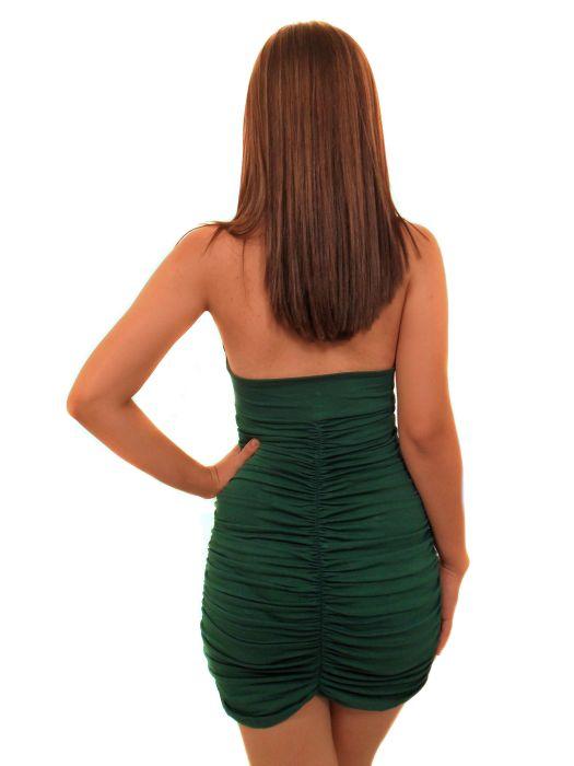 Vestido Mania Curto Liso Fem Adulto - 278