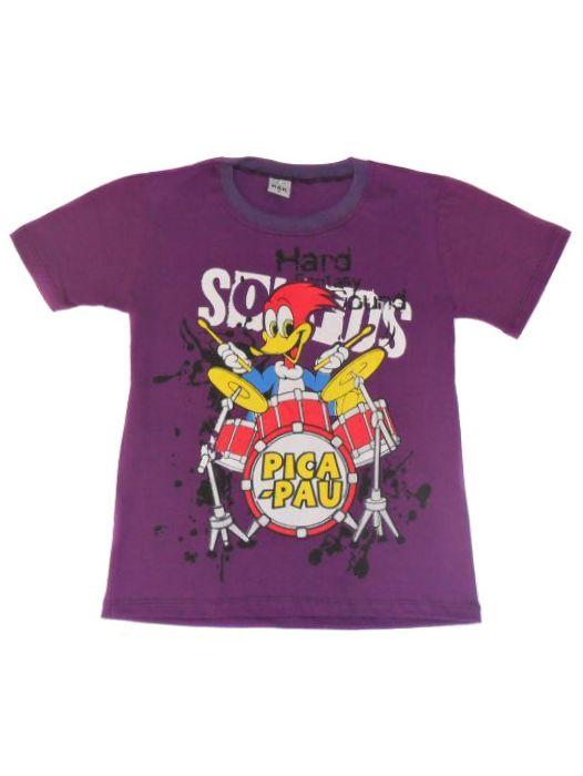 Camisa Algodão Manga Curta Masc Infantil - 295