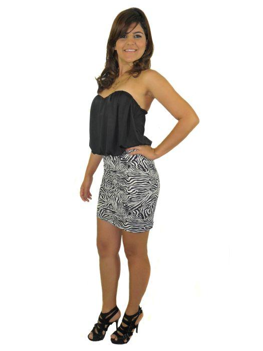 Vestido Luana Fem. adulto - 297
