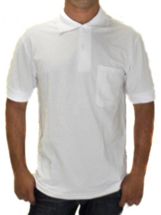 Camisa Gola Polo Lisa Masculina Adulto - 018