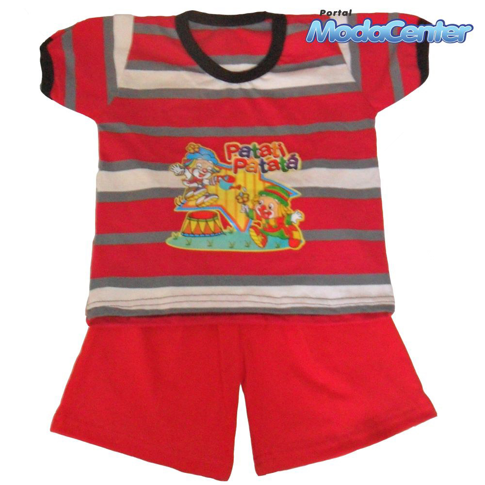 Conjunto Juninho Masculino Infantil - 072