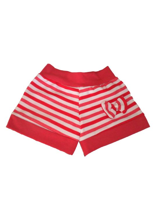 Short Cotton Feminino Infantil - 093
