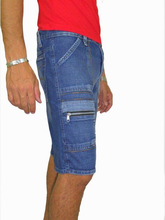 Bermuda Jeans Masculina Adulto - 225
