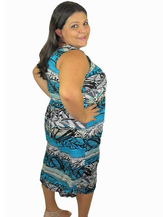 Vestido Estampado/Liso GG Adulto - 227