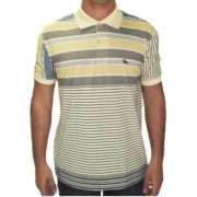 Camisa Gola Polo Listra Fina Masculina Adulto - 019