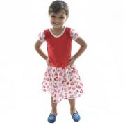 Vestido Lara Feminino Infantil - 001