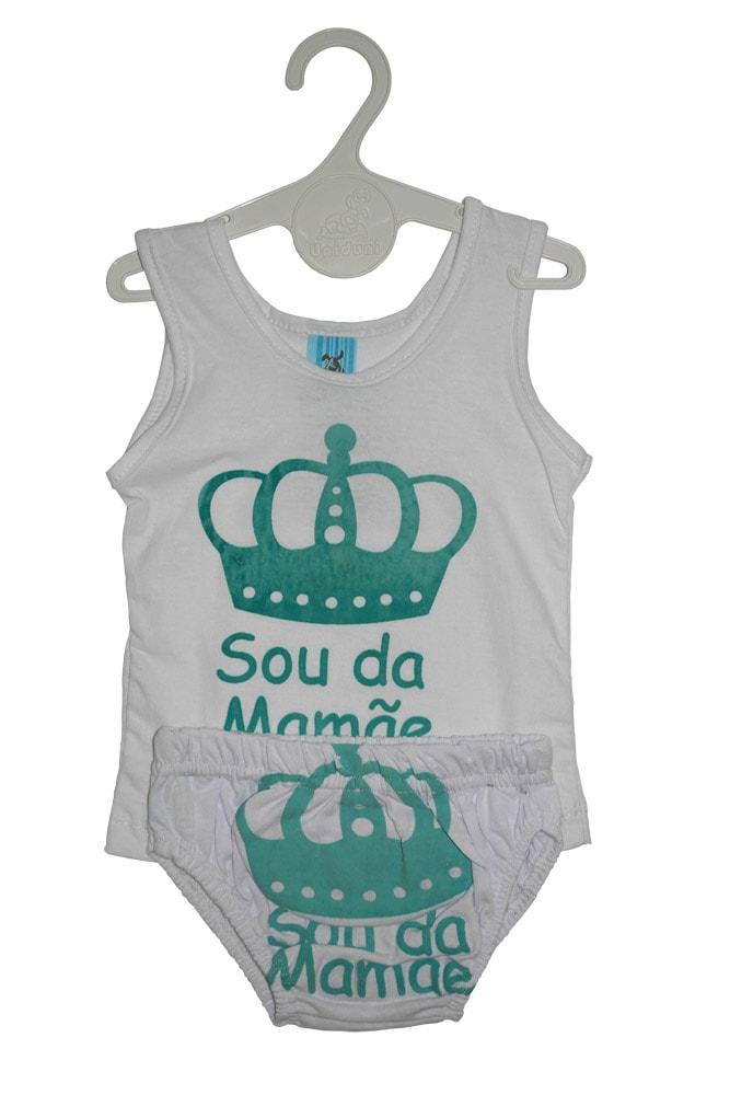 Camiseta com Cueca Masc. RN - 805