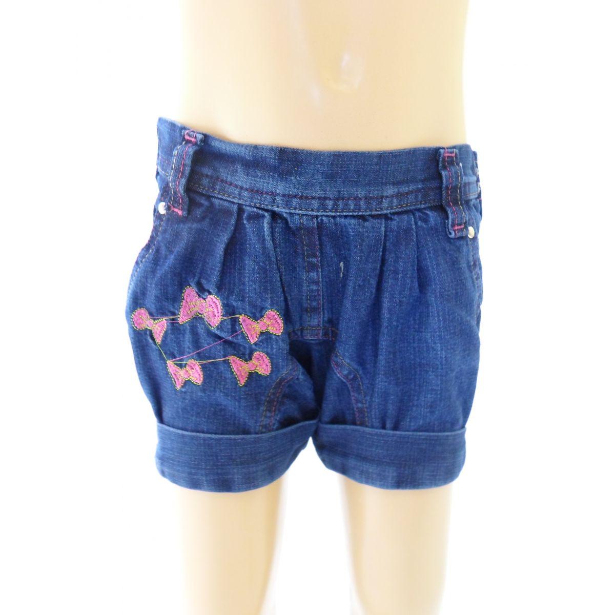 Short Jeans Inf/Juvenil Fem. - 739