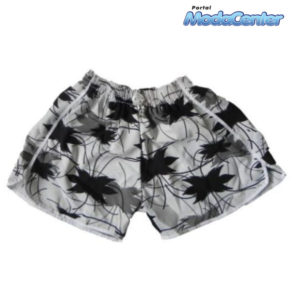 Short Voley Fem. Estampado GG Adulto - 751