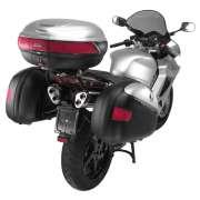 Bau Lateral Givi E41 Keyless Prata  - Motosports