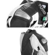 Macac�o Tutto Titanium Preto c/ Prata - 2 pe�as  - Motosports