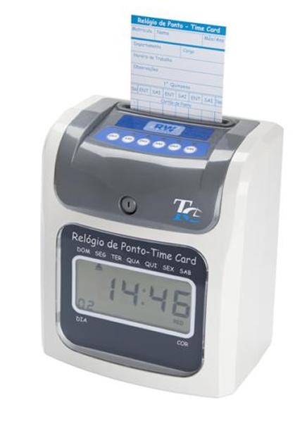 Relógio de Ponto Cartográfico Time Card RWTECH - Isento à Portaria 1510 MTE e Solução para a PEC 66  - Iponto Tecnologia