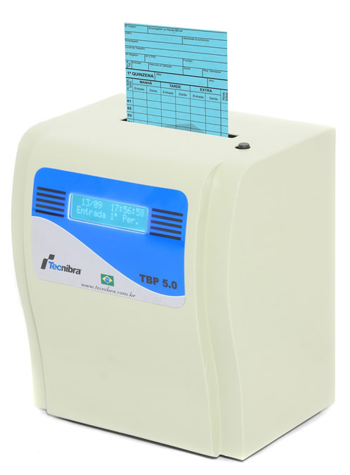 Relógio de Ponto Cartográfico TBP 5.0 - Isento Portaria 1510 MTE  - Iponto Tecnologia