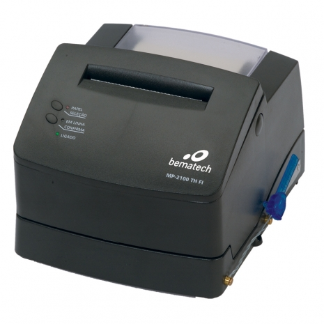 Impressora Fiscal MP-2100 TH FI Bematech  - Iponto Tecnologia