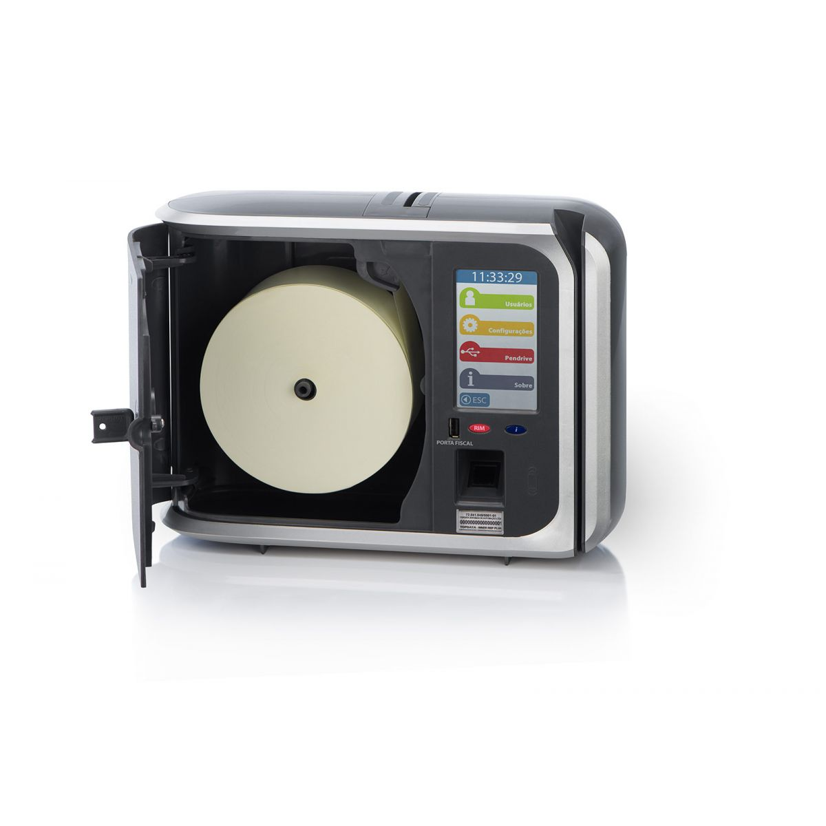 Relógio de Ponto Inner Rep Plus Bio Prox LC Topdata  - Iponto Tecnologia
