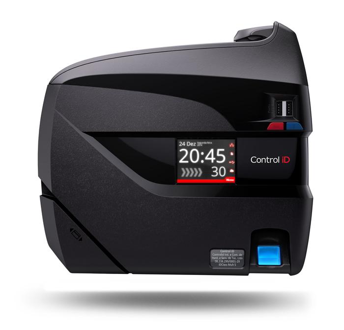 Relógio de Ponto REP iDClass Bio Barras Control iD + Ponto Secullum 4  - Iponto Tecnologia