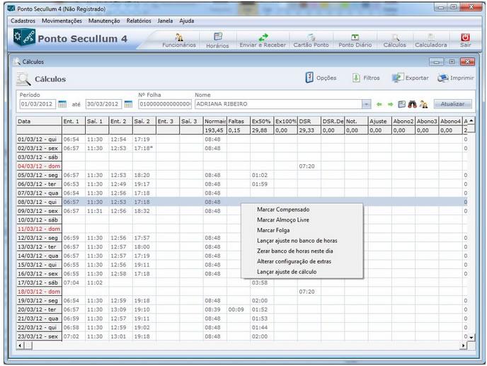 Software Ponto Secullum 4 com Instalação e Treinamento - Modalidade Compra  - Iponto Tecnologia