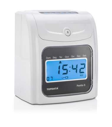 Relógio de Ponto Cartográfico Pontto 5 Topdata  - Iponto Tecnologia