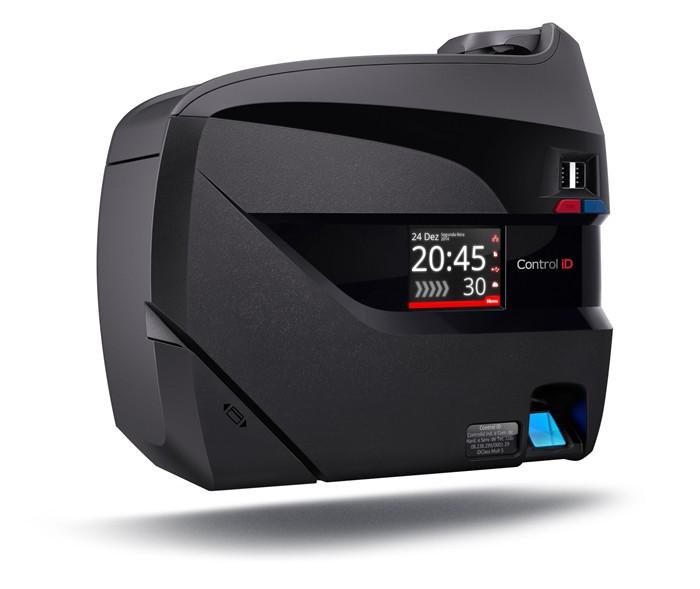 Relógio de Ponto REP iDClass Bio Barras Control iD  - Iponto Tecnologia