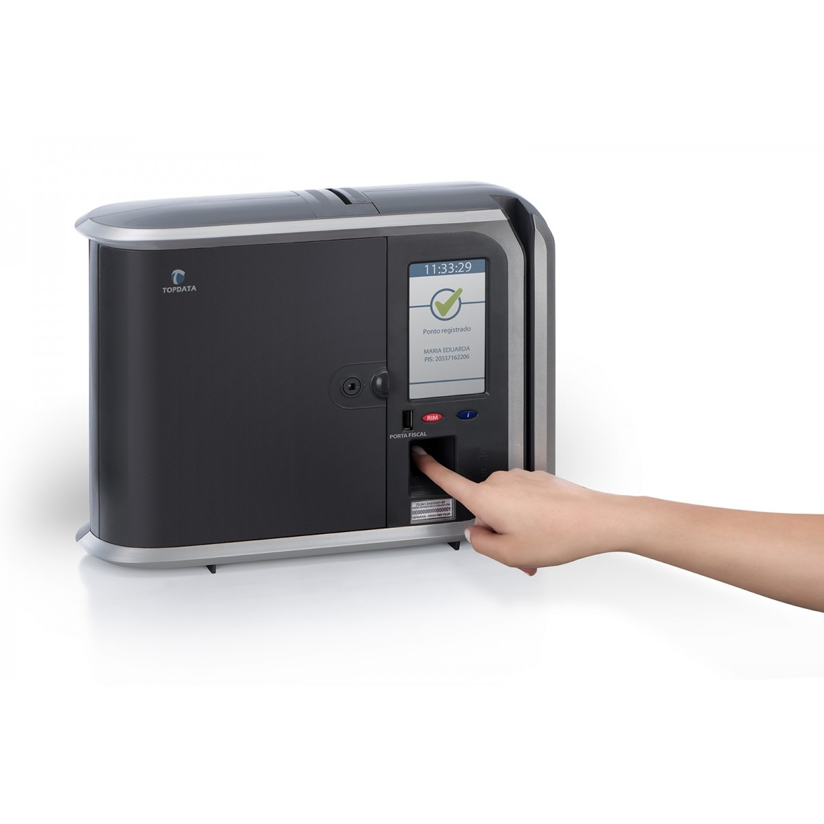 Relógio de Ponto Inner Rep Plus Bio Prox LFD Topdata + Ponto Secullum 4  - Iponto Tecnologia