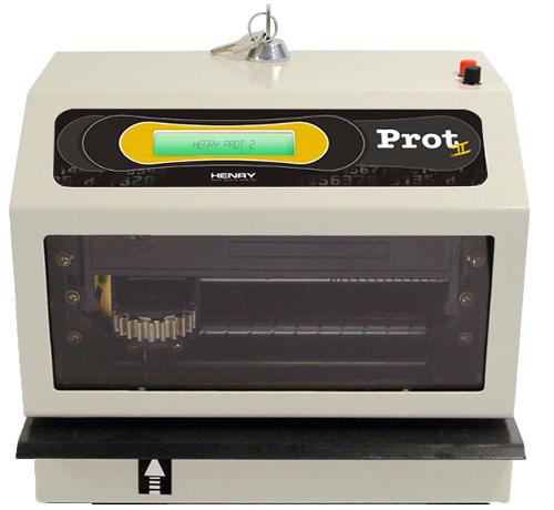 Protocolador de Documentos Henry Prot II  - Iponto Tecnologia
