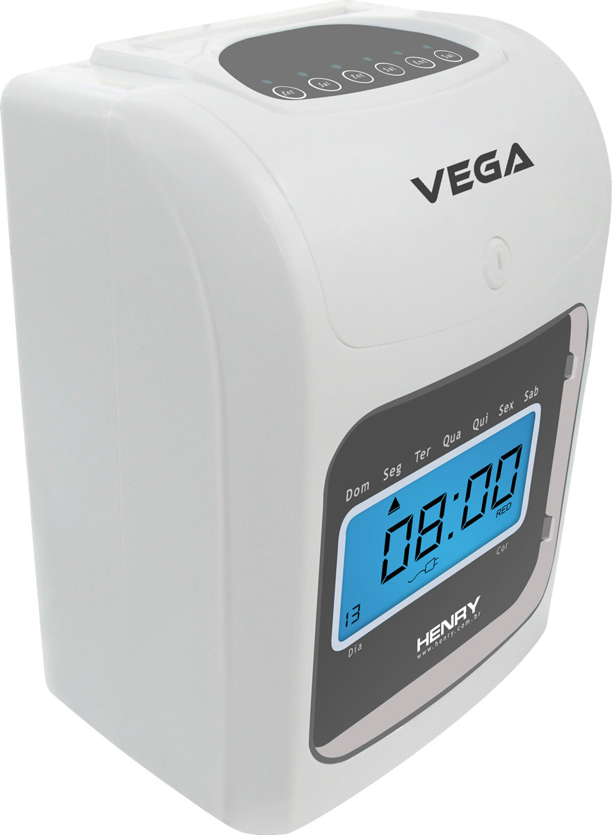 Relógio de Ponto Cartográfico Vega - Henry  - Iponto Tecnologia