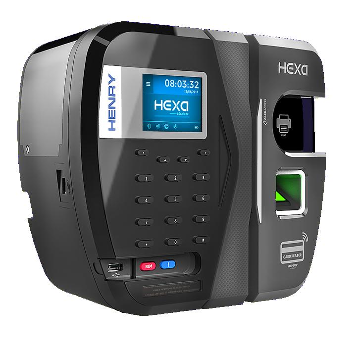 Relógio de Ponto REP Hexa Advanced B Bio Prox Henry  - Iponto Tecnologia